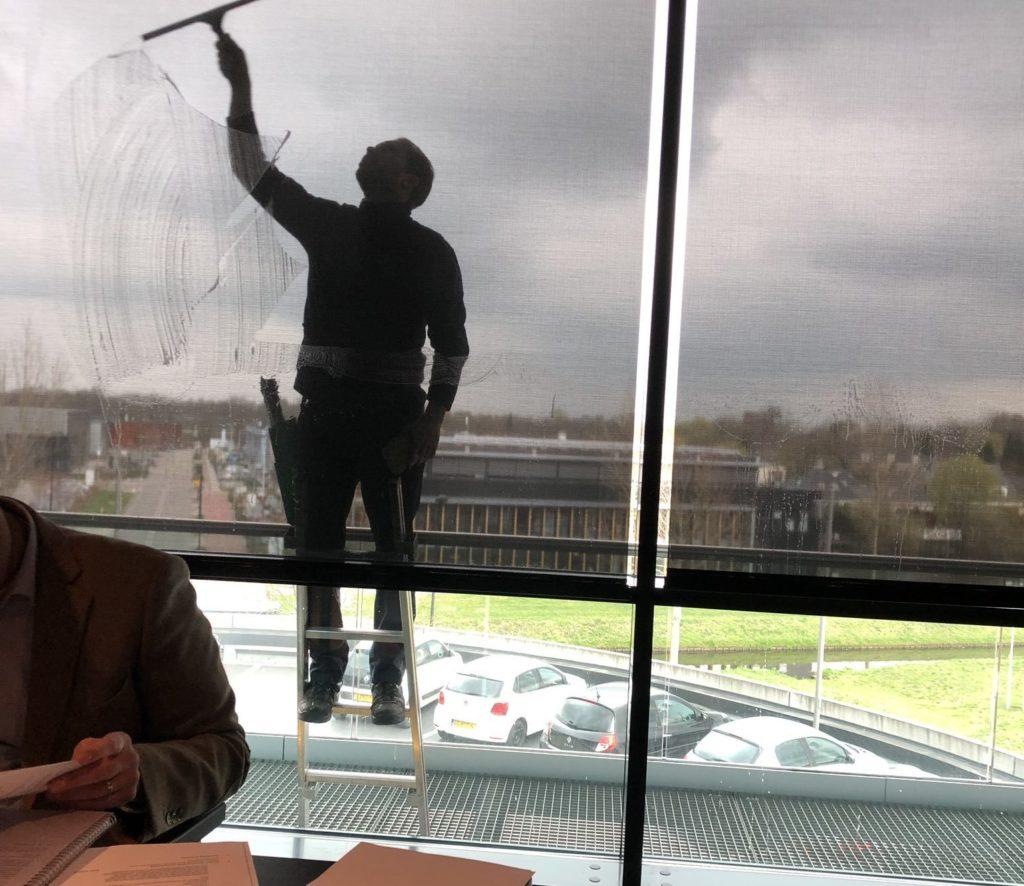 Uitzicht VO vergadering in Hotel Veenendaal